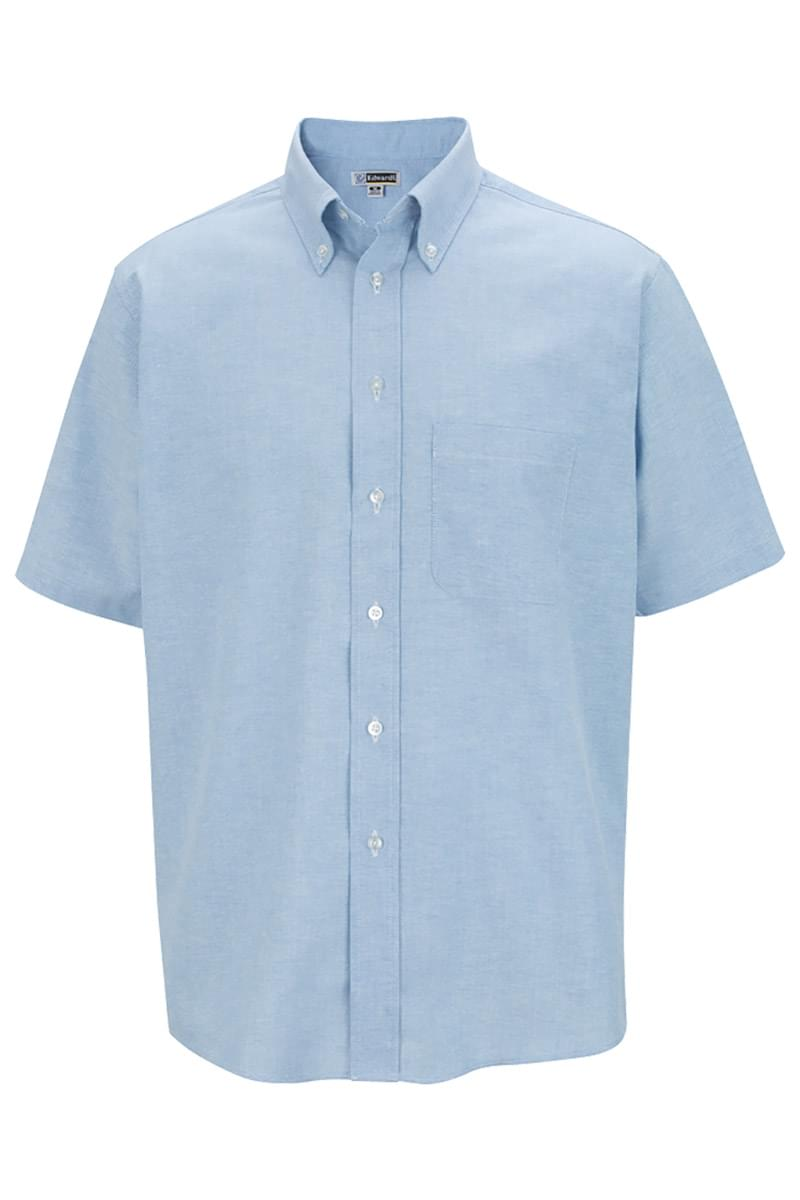 Men's Short Sleeve Oxford Shirt