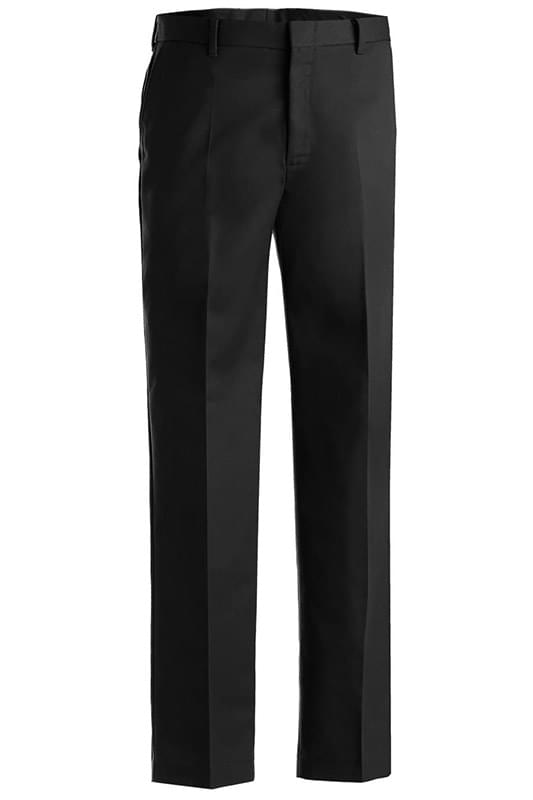MEN'S BUSINESS CASUAL FLAT FRONT CHINO PANT