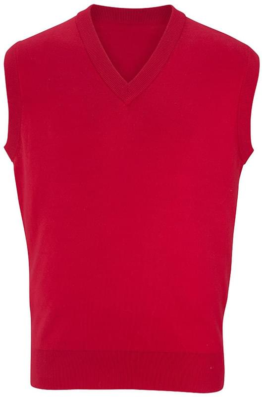 V-Neck Cotton Sweater Vest