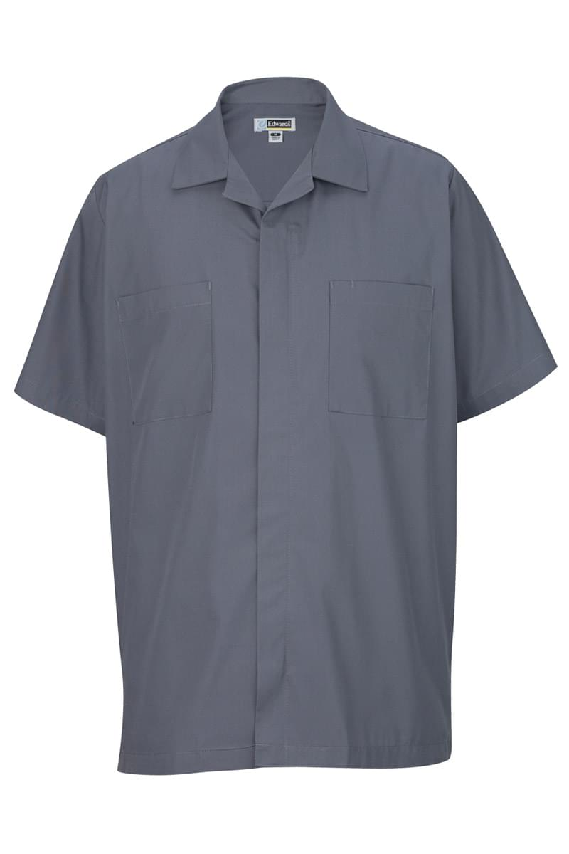 MEN'S ZIP-FRONT SERVICE SHIRT