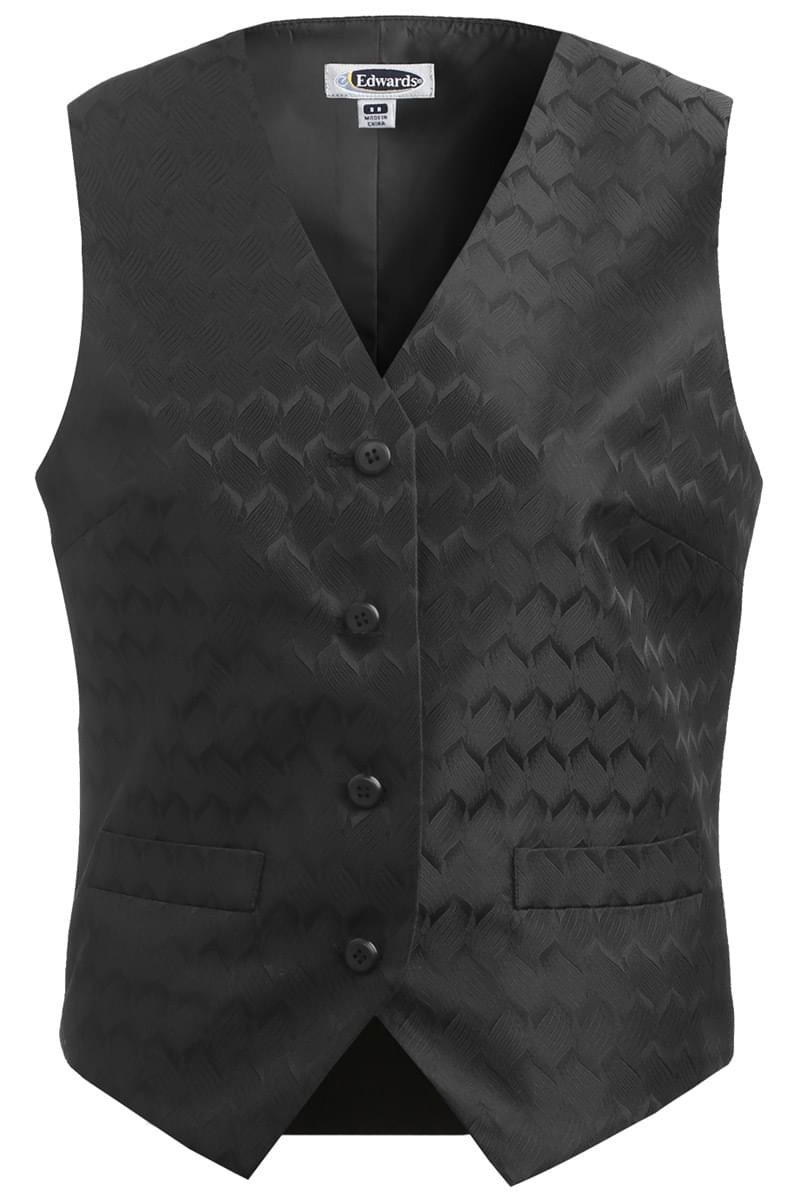 LADIES' SWIRL BROCADE VEST