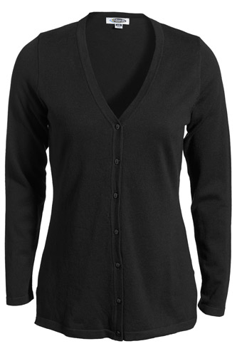 Women's Corporate Performance V-Neck Longer Cardigan