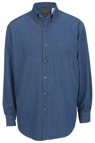 Denim Heavyweight Long Sleeve Shirt