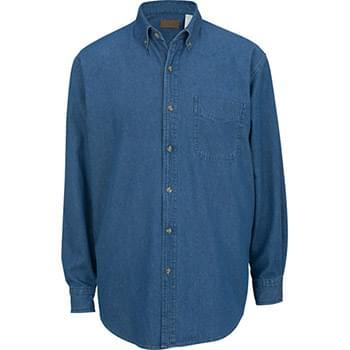 Men's Mid-Weight Long Sleeve Denim Shirt