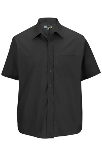 Men's Short Sleeve Value Broadcloth Shirt