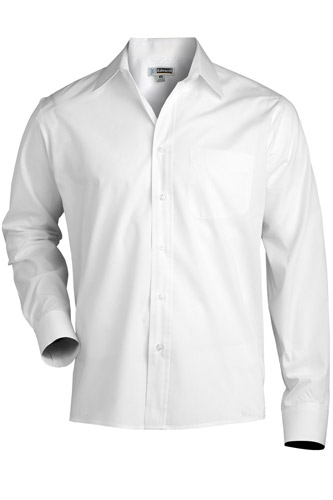 Men's Long Sleeve Value Broadcloth Shirt