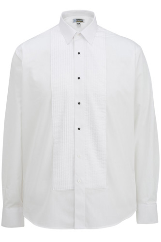 Men's Tuxedo Shirt 1/4 Pleat