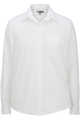 Men's Pinpoint Point Collar Oxford Shirt