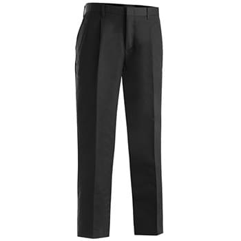 Men's Business Casual Pleated Chino Pant