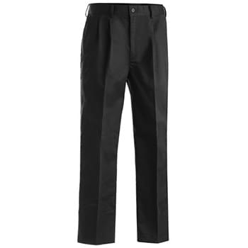 MEN'S BLENDED CHINO PLEATED PANT