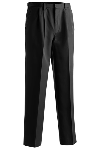Men's Microfiber Pleated Pant