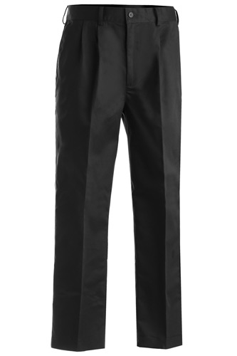 Men's Easy Fit Chino Pleated Front Pant