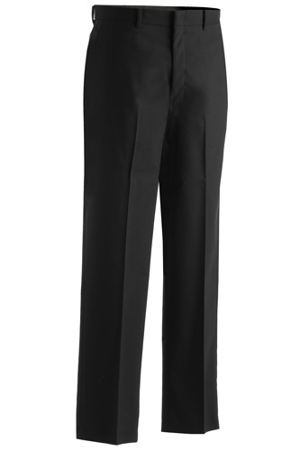 Men's Lightweight Wool Blend Flat Front Pant