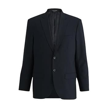 EDWARDS MEN'S SINGLE BREASTED POLY/WOOL SUIT COAT