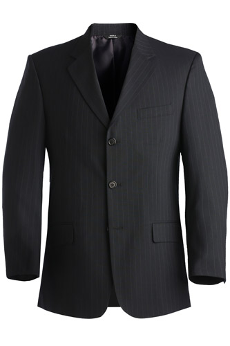 Men's Pinstripe Suit Coat