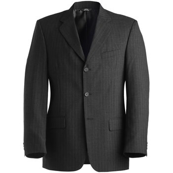 Men's Pinstripe Wool Blend Suit Coat