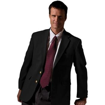 Men's Hopsack Wool Blend Blazer