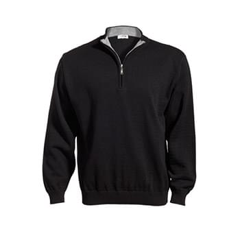 1/4 Zip Acrylic Sweater