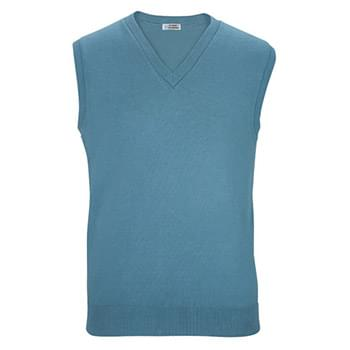 V-NECK COTTON BLEND SWEATER VEST