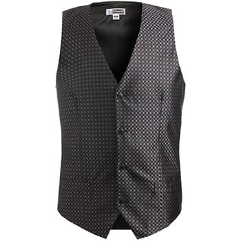MEN'S GRID BROCADE VEST