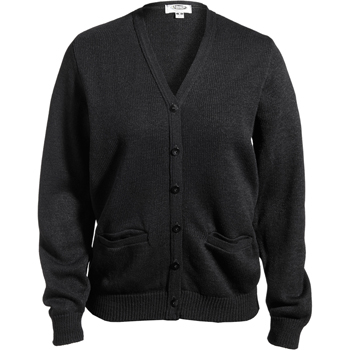 Women's V-Neck Pocket Cardigan W/Tuff-Pil Plus