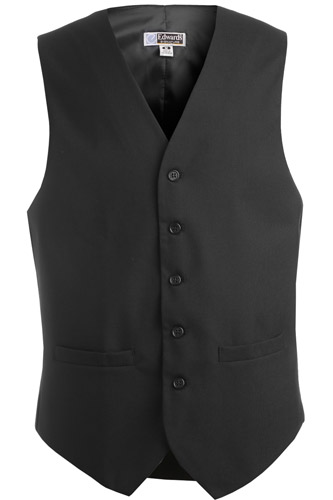 Men's High Button Vest