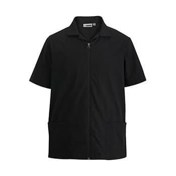 MEN'S ZIP FRONT SERVICE SHIRT