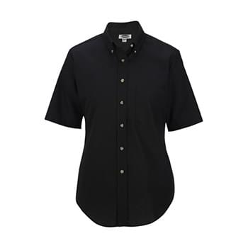 Ladies' Easy Care Short Sleeve Poplin Shirt