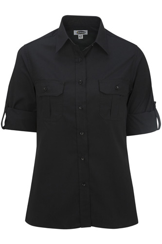 W Roll Sleeve Shirt
