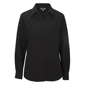 LADIES' COTTONPLUS LONG SLEEVE TWILL SHIRT
