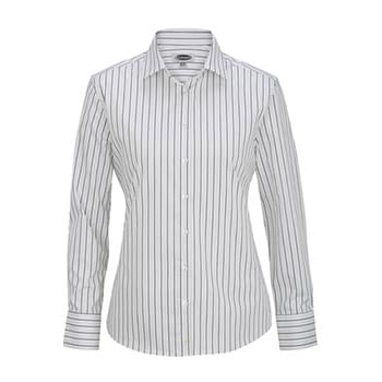 Women's Long Sleeve Patterned Dress Shirt