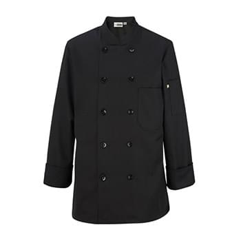 Women's Casual 10 Button Chef Coat
