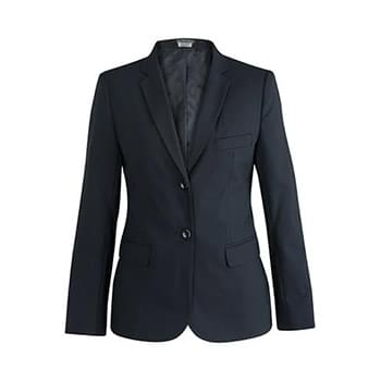 EDWARDS LADIES' SINGLE BREASTED POLY/WOOL SUIT COAT