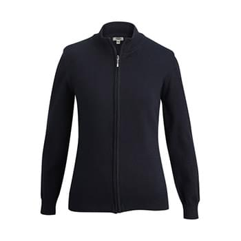 LADIES' FULL-ZIP CARDIGAN