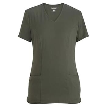 LADIES' ZIP FRONT TUNIC