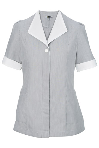 Ladies' Junior Cord Hidden Placket Tunic