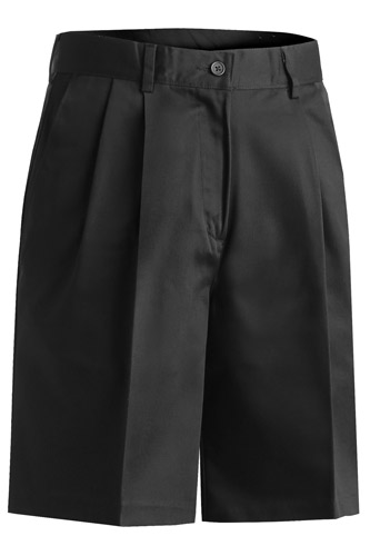 Ladies' Utility Pleated Front Chino Short
