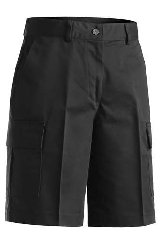 LADIES' UTILITY CARGO CHINO SHORT