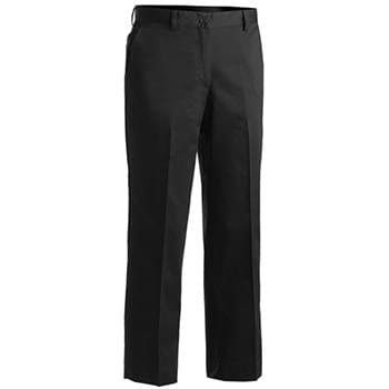 Women's Blended Chino Flat Front Pant