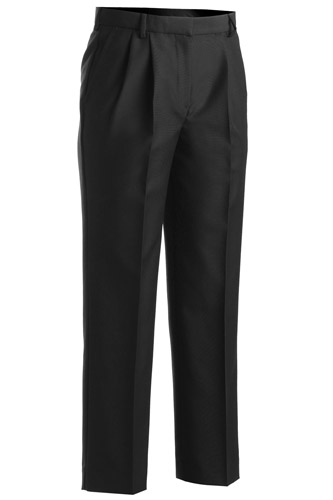Ladies' Washable Wool Blend Pleated Front Pant