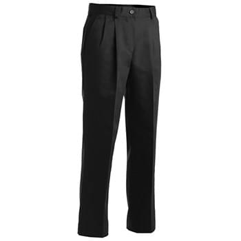 Women's All Cotton Pleated Pant