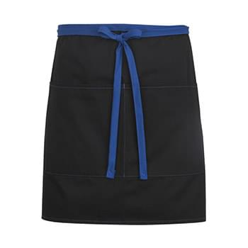 Half Bistro Apron-Color Blocked