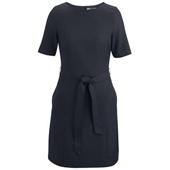LADIES' SYNERGY WASHABLE JEWEL NECK DRESS